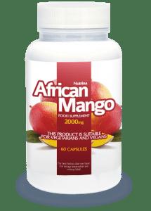 AfricanMango Isolated