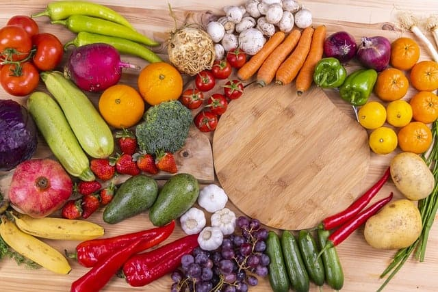Grönsaker och frukt