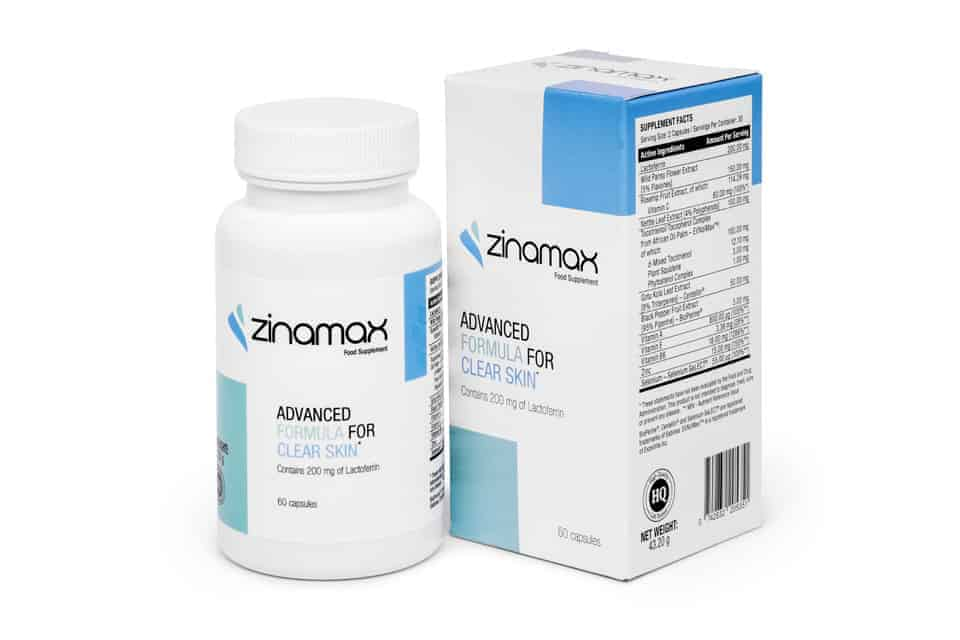 Zinamax Acne Tabletter
